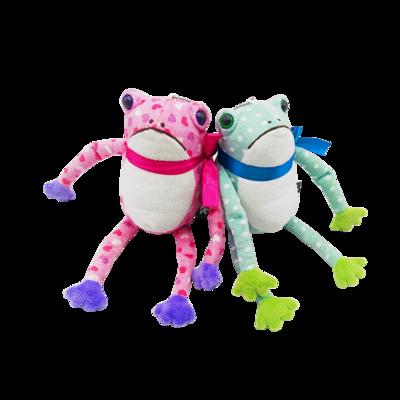 Cute Holiday Plush Frog Stuffed Animal Wholesale